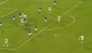 Italia-Cecoslovacchia 1980. Jurkemik segna l' 1-1 da distanza siderale