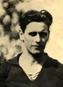 Ottavio Barbieri da giocatore con la casacca del Genoa