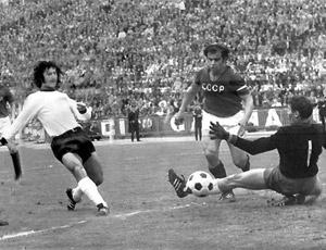 1972: Wimmer segna il 2-0 all'URSS