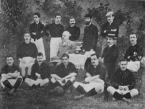Il Milan campione nel 1901