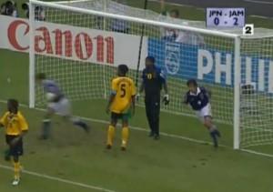 Nakayama va in gol contro la Giamaica