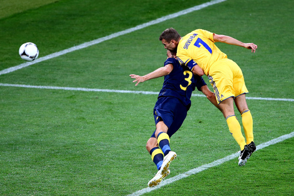BESTPIX  Ukraine v Sweden - Group D: UEFA EURO 2012