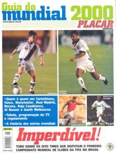 Il giornale brasiliano Placar presenta l'edizione del 2000