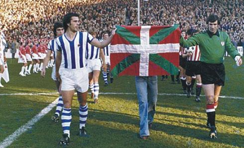 Quando il calcio basco scelse da che parte stare
