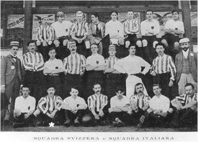 30 aprile 1899: Un'amichevole italo-svizzera