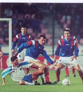 1993: Francia-Israele 2-3. La Francia non si qualifica a USA '94