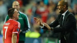 Ribery Guardiola