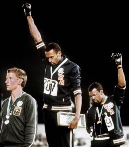 Tommie Smith Podium