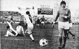 Danielsson festeggia il gol del 2-0 nello spareggio col Benfica