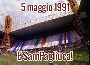5 maggio 1991: è SamPagliuca !