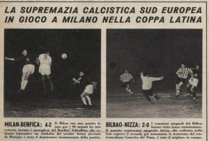 coppa latina 1956 semi