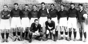 Lo Sparta Praga vincitore nel 1927
