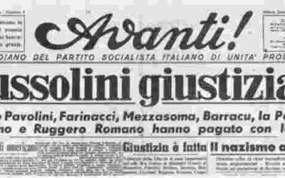 Il terzino della Comense e il mitra che sparò a Mussolini