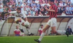 Massimiliano Esposito in azione a Milano