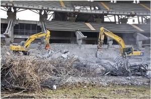 Demolizione dello stadio Delle Alpi