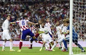 Garcia segna l'1-1 al Bernabéu