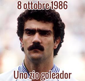 8 ottobre 1986: Uno zio goleador