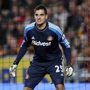 Vito Mannone, 26enne portiere del Sunderland