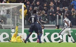 Pogba ha appena siglato il 3-2 per la Juventus