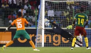 Gradel in gol contro il Camerun