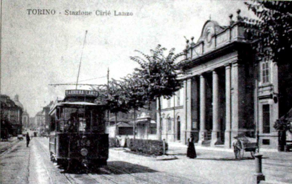25 dicembre 1910: Al campo sportivo in tram
