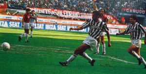 1990: Galia segna a San Siro
