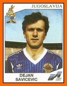 Foto dall'Album Panini degli Europei '92. La Jugoslavia non vi potrà partecipare, nonostante la qualificazione ottenuta, per decisione dell'UEFA