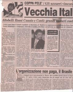 Gazzetta dello Sport, 12/7/1993