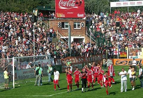 21 agosto 2005: Union Berlino Sturm-und Drang