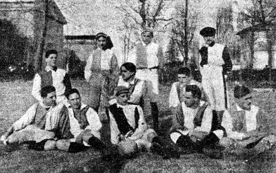 1912, la Prima Categoria in viaggio verso Sud