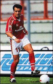 Rapai con la maglia del Perugia nella stagione 1999/2000