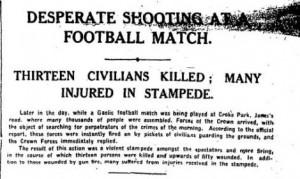 Irish Times, 22 novembre 1920