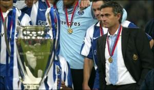 Il giovane Mourinho prende bene la vittoria dei suoi in Champions League