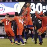Il Cile concede il bis