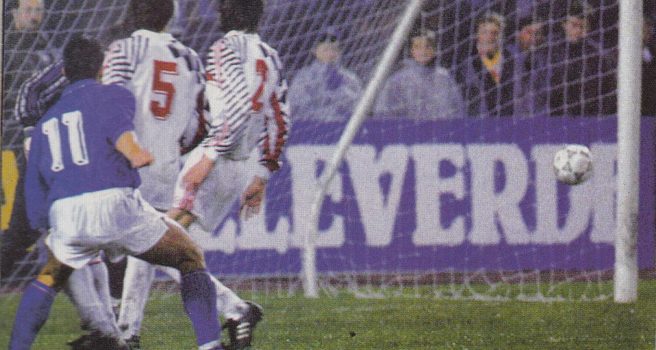 """12 ottobre 1991: """"Se quel palo sarebbe entrato in gol…"""""""