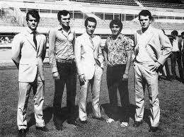 Juventus 1970/71: Capello, Landini, l'allenatore Picchi, Anastasi e Bettega