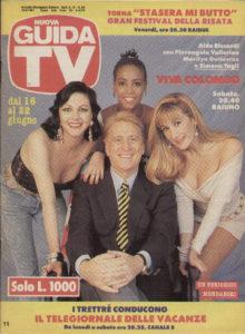 Guida TV del giugno 1991