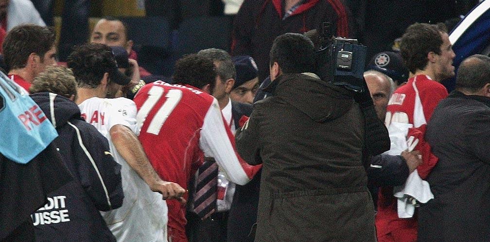 17 novembre 2005: Non i gol, né le emozioni, ma la rissa a fine partita