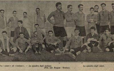 1911, Juventus e Torino per i caduti in Africa