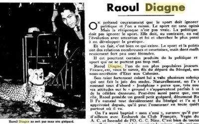 Raoul Diagne, l'assimilato al quadrato