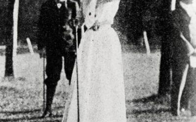 Margaret Abbott, la golfista con il cappellino