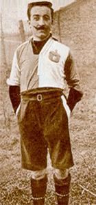 Franz Calì, un capitano coi baffi