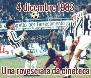 4 dicembre 1983: Una rovesciata da cineteca
