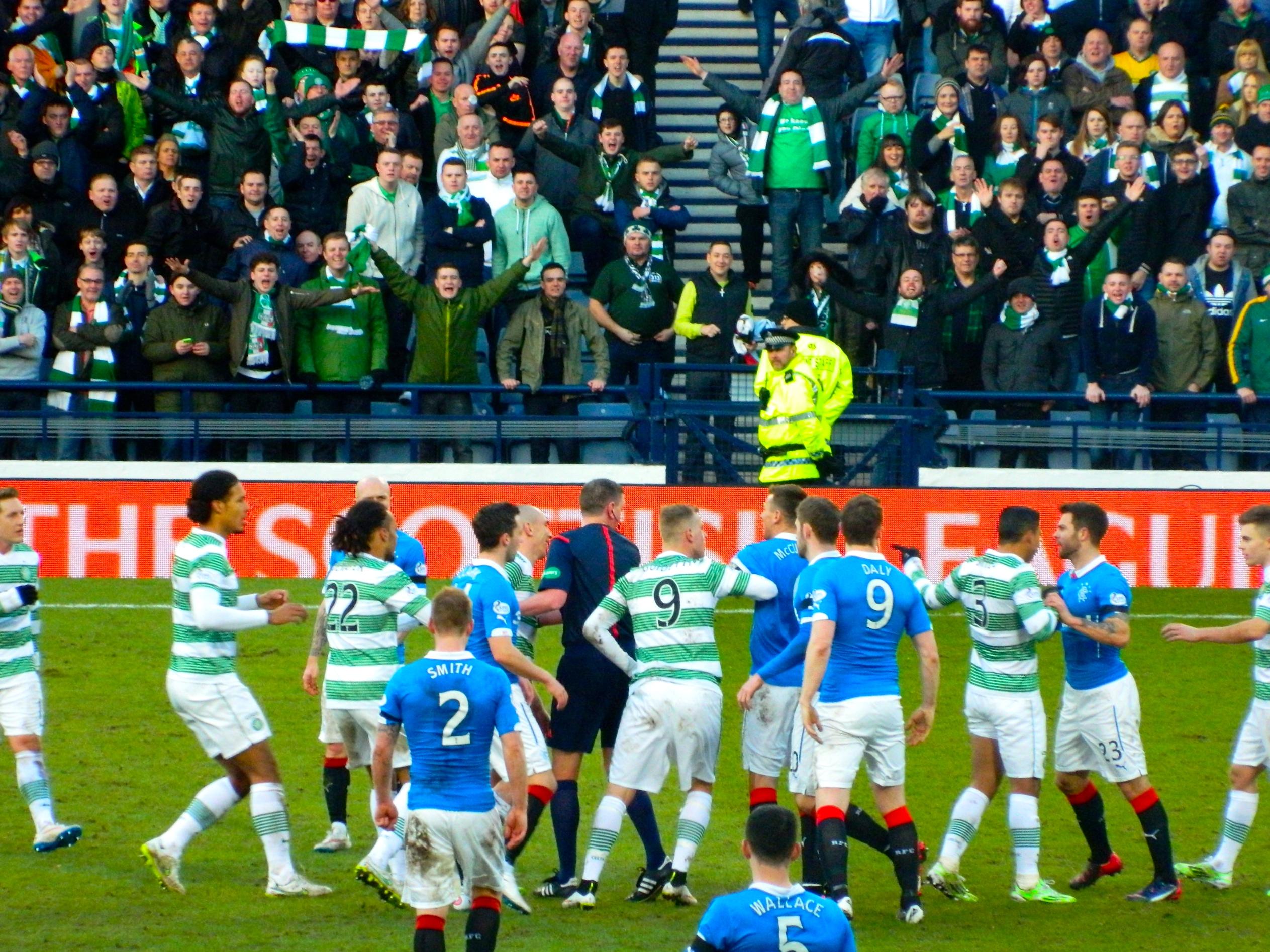1 febbraio 2015: Il ritorno dell'Old Firm a Glasgow