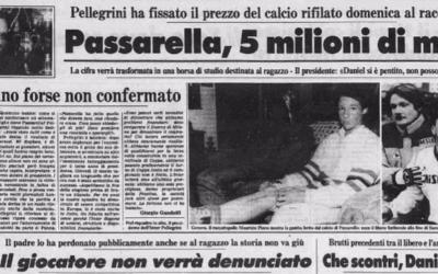 8 marzo 1987: Passarella alla Cantona