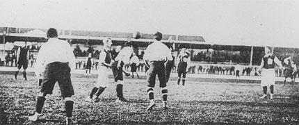 Il football al tempo di de Coubertin