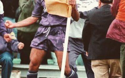 28 novembre 1994: Una bandierina tra Pascutti e Batistuta
